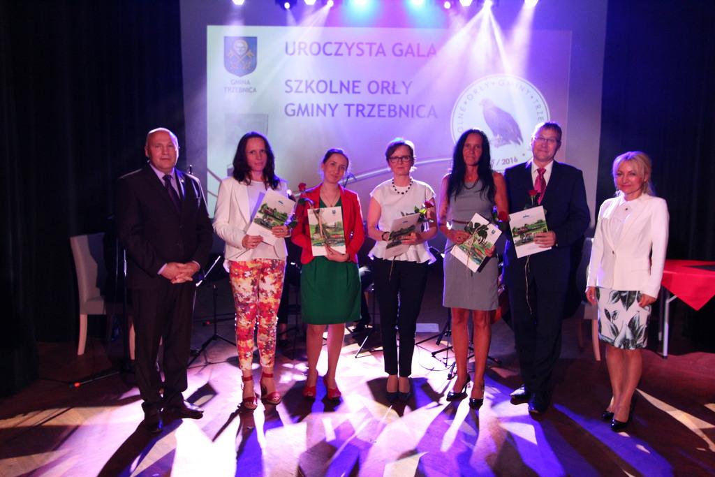Nagrodzona została również kadra pedagogiczna z Gimnazjum nr 1.