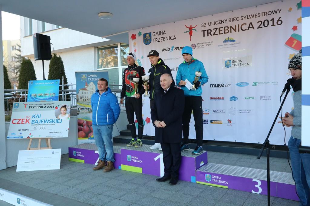 Zwycięzcą tegorocznego 32. Biegu Sylwestrowego został Norbert Piekielny.