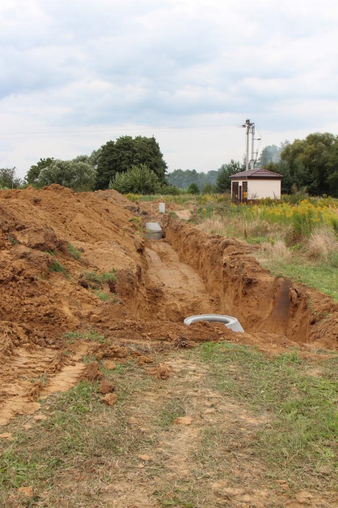 Na terenie budowy trwają pierwsze prace ziemne.jpeg