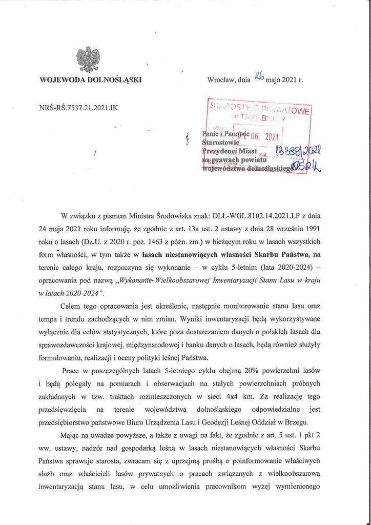 2021-05-2021 Pismo Wojewody o wielkoobszarowej ISL_Strona_1.jpeg