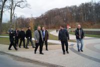 Wizytacja strefy pobytowej przy dawnych terenach uzdrowiskowych w Trzebnicy