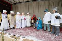 Święto Objawienia Pańskiego po raz kolejny  zaangażowało i zintegrowało mieszkańców - od tych najmniejszych do tych największych.