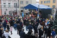 Głównym punktem było wspólne świętowanie na Rynku.