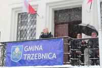 Okolicznościowe przemówienie gospodarza uroczystości- Burmistrza Marka Długozimy.