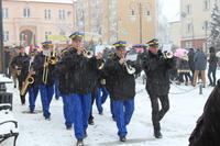 Trzebnicka Orkiestra Dęta  odegrała hejnał Trzebnicy oraz Hymn Państwowy.