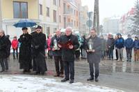 Przemówienie wygłosił również starosta trzebnicki Waldemar Wysocki.