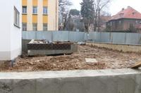 Galeria Na placu budowy Gminnej Przychodni Zdrowia TCM ZDRÓJ praca wre