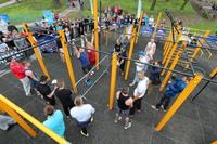 Galeria Street Workout - wielkie otwarcie