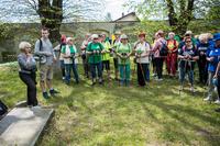 Po drodze uczestnicy poznali historię rotundy św. Jadwigi.