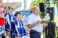 Ważnym punktem rodzinnego pikniku było ogłoszenie przez Burmistrza Marka Długozimę wyników Trzeciego Trzebnickiego Budżetu Obywatelskiego.