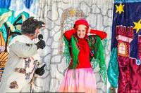 Dzieci były zachwycone występem aktorów z Krakowa.