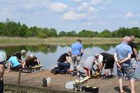 Zmagania modeli pływających odbyły się na stawach u Państwa Cieleniów w Skoroszowie.