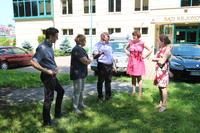 Jako że Park Miejski przylega do terenu Sądu Rejonowego w Trzebnicy - w konsultacjach, udział wzięła również Pani Prezes Sądu Rejonowego w Trzebnicy Jadwiga Zawadzka oraz Pani Dyrektor Magdalena Rypińska