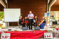 Na inauguracyjny koncert Muzyczna Podróż po Europie zaprosił Burmistrz Marek Długozima.
