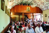 We mszy św. uczestniczyli m.in. burmistrz Marek Długozima wraz z małżonką oraz sołtys Brzezia Krystyna Borecka-Roszak.