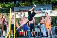 Wiele emocji dostarczył widowni specjalny pokaz Street Workout Trzebnica.