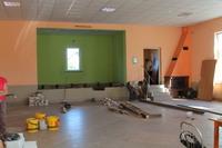 Niebawem mieszkańcy Skoroszowa będą mogli cieszyć się ze wspólnych spotkań w nowo wyremontowanych pomieszczeniach budynku.