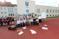 W związku z upamiętnieniem 75. rocznicy wybuchu II wojny światowej uczniowie przygotowali wspaniałą inscenizację.