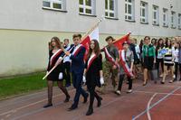 Obchody Święta Szkoły w Gimnazjum nr 1 w Trzebnicy.