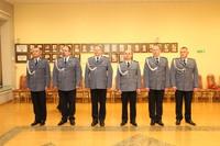 Galeria Wprowadzenie komendanta powiatowego policji oraz zastępcy w Trzebnicy