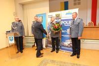 Gratulacje obu komendantom złożył burmistrz Marek Długozima.