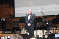 Głos zabrał również Przewodniczący Kapituły, Rektor Uniwersytetu Ekonomicznego we Wrocławiu – prof. dr hab. Andrzej Kaleta.