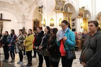 Specjalnego błogosławieństwa relikwiami św. Jadwigi udzielił kobietom w stanie błogosławionym bp Edward Janiak.