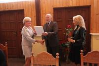 Bogumiła Szermer, Dyrektor Szkoły Podstawowej w Boleścinie.