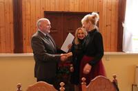 Elżbieta Nowak, Dyrektor Gimnazjum nr 1 w Trzebnicy.