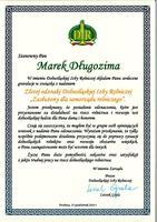 Galeria Odznaczenie dla Burmistrza Gminy Trzebnica – Marka Długozimy