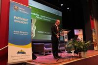 W imieniu burmistrza Marka Długozimy gości przywitał Sekretarz Gminy Trzebnica Daniel Buczak.
