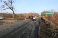 Co ważne dla mieszkańców Komorówka, wykonany zostanie również zjazd prowadzący do sołectwa oraz chodnik doprowadzający do przystanku autobusowego.