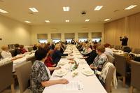 W spotkaniu wigilijnym wzięli udział słuchacze UTW oraz zaproszeni goście.