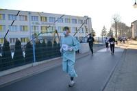 Na zdjęciu lek. med. Paweł Orzechowski, który brał udział w konkursie na najlepsze przebranie.