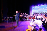 Zaproszonych gości przywitał burmistrz Marek Długozima.