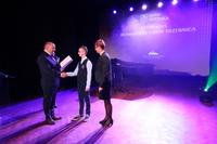 Również liczne osiągnięcia Pawła Soleckiego  ze Szkoły Podstawowej nr 3 zostały docenione. Uczeń odebrał stypendium z rąk burmistrza.
