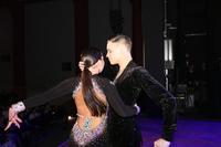 Tancerze zaprezentowali się m.in. w rumbie.