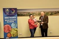 Pani Ewelina Miela z Trzebnicy zdobyła trzecie miejsce w konkursie.