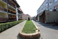 Galeria Ul. Solna obecnie oraz wizualizacje fontanny