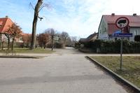Galeria Ciąg pieszo-jezdny prowadzący od ul. 1-go Maja do ul. Oleśnickiej.