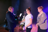 Dominika Józefiak z Gimnazjum nr 1 w Trzebnicy.