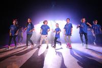"""Występ grupy tańca współczesnego """"READY TO GO"""",  działającej przy Gminnym Centrum Kultury i Sportu pod kierunkiem Pani Justyny Łukasiewicz."""