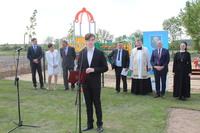 Uroczystość poprowadził Paweł Krawiec - mieszkaniec Małuszyna.