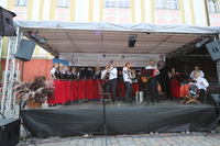Występ zespołu ludowego Gieni Dutki bawił i porywał do tańca.