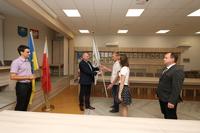 Galeria Wędrówka flagi igrzysk