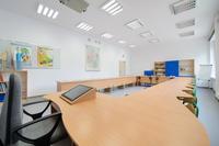 Sale w nowej Szkole Podstawowej nr 1 wyposażone zostaną w nowoczesny sprzęt edukacyjny, podobnie jak ma to miejsce w Szkole Podstawowej nr 2.
