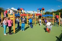 Nowoczesny plac zabaw oraz boisko wielofunkcyjne z bieżnią powstaną przy Gimnazjum nr 1 na wzór  tych znajdujących się przy SP2.