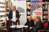 Koferencję prowadzili (od lewej) - Andzej Kosendiak, Rafał Augustyn i Szymon Bywalec