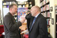 Częścią konferencji były wywiady z organizatorami i partnerami festiwalu Musica Polonica Nova