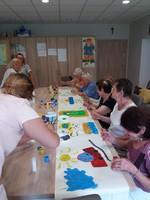 Galeria Senior wigor - malowanie